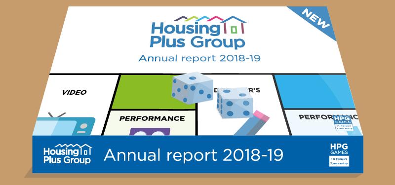 Annual report board game