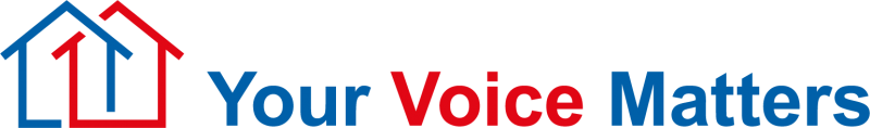 Your voice matters logos